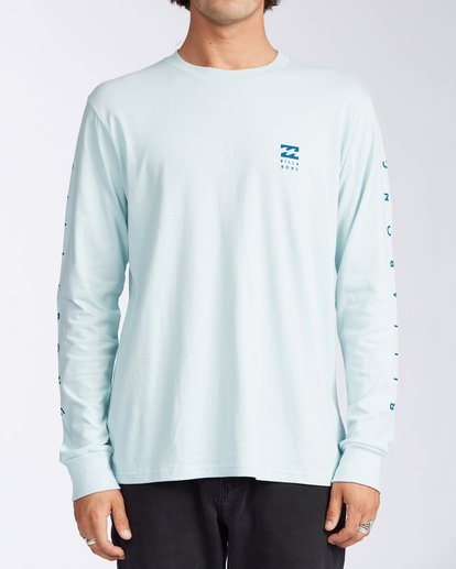0 Unity Long Sleeve T-Shirt Blue ABYZT00150 Billabong