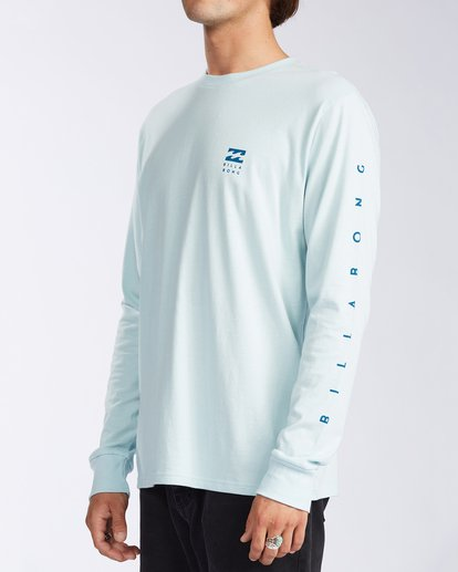 1 Unity Long Sleeve T-Shirt Blue ABYZT00150 Billabong