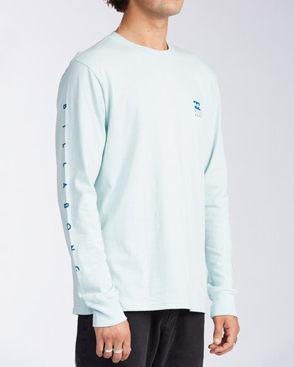 2 Unity Long Sleeve T-Shirt Blue ABYZT00150 Billabong
