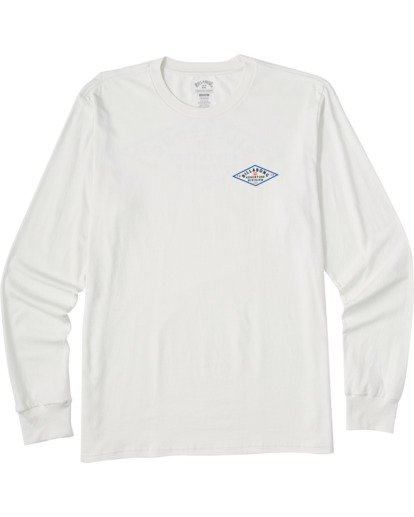 3 Tundra Long Sleeve T-Shirt White ABYZT00161 Billabong