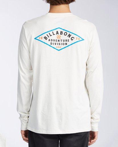 2 Tundra Long Sleeve T-Shirt White ABYZT00161 Billabong