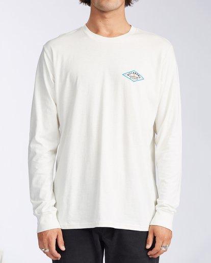 0 Tundra Long Sleeve T-Shirt White ABYZT00161 Billabong
