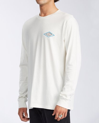 1 Tundra Long Sleeve T-Shirt White ABYZT00161 Billabong