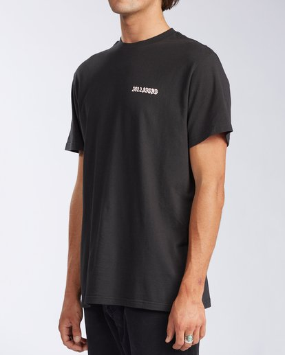 1 Cosmic Waves Short Sleeve T-Shirt Black ABYZT00164 Billabong
