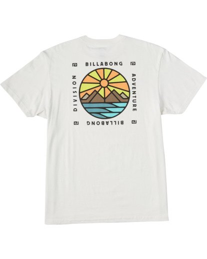 4 Acadia Short Sleeve T-Shirt White ABYZT00186 Billabong