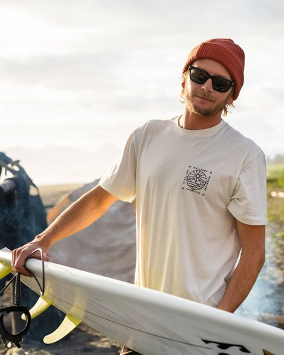 5 Acadia Short Sleeve T-Shirt White ABYZT00186 Billabong