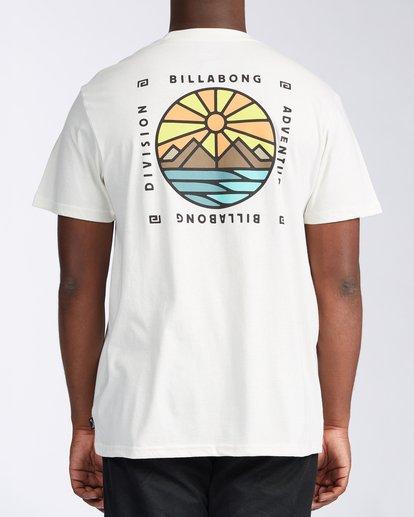 2 Acadia Short Sleeve T-Shirt White ABYZT00186 Billabong