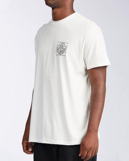 1 Acadia Short Sleeve T-Shirt White ABYZT00186 Billabong