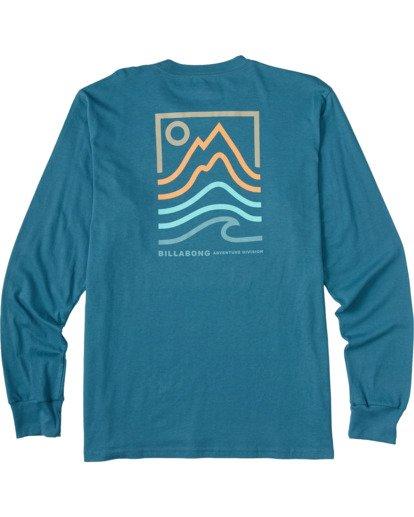 4 Peak Long Sleeve T-Shirt Blue ABYZT00187 Billabong