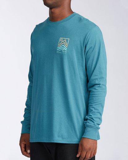 1 Peak Long Sleeve T-Shirt Blue ABYZT00187 Billabong