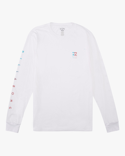 4 Unity Long Sleeve T-Shirt White ABYZT00190 Billabong