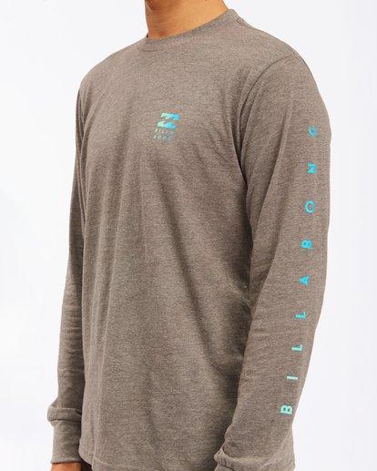 4 Unity Long Sleeve T-Shirt Green ABYZT00190 Billabong