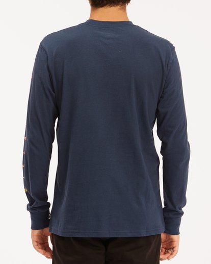 3 Unity Long Sleeve T-Shirt Blue ABYZT00190 Billabong