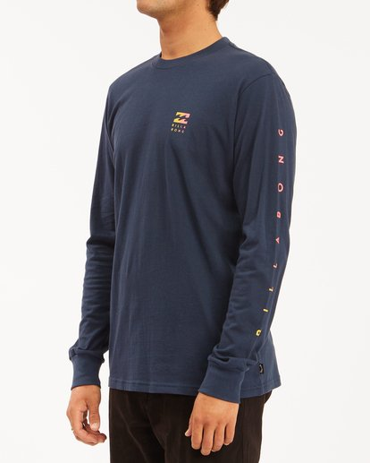 1 Unity Long Sleeve T-Shirt Blue ABYZT00190 Billabong