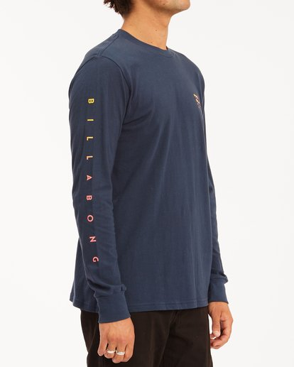 2 Unity Long Sleeve T-Shirt Blue ABYZT00190 Billabong