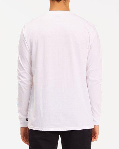 2 Unity Long Sleeve T-Shirt White ABYZT00190 Billabong