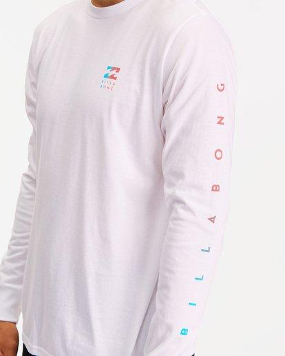 3 Unity Long Sleeve T-Shirt White ABYZT00190 Billabong