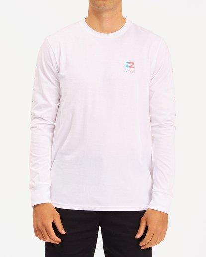 0 Unity Long Sleeve T-Shirt White ABYZT00190 Billabong