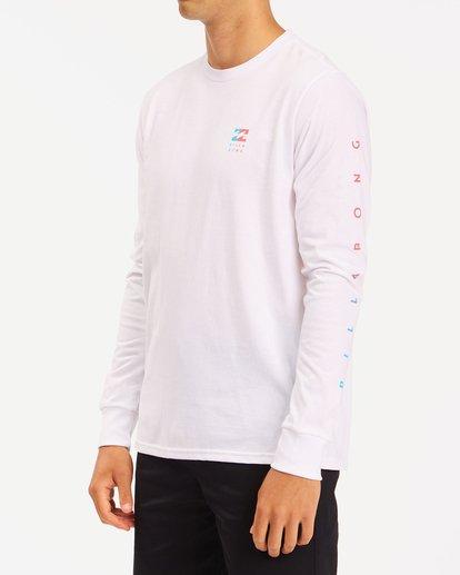 1 Unity Long Sleeve T-Shirt White ABYZT00190 Billabong