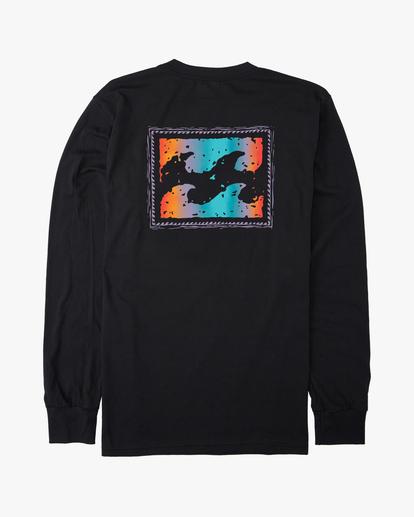 1 Crayon Wave Long Sleeve T-Shirt Black ABYZT00191 Billabong