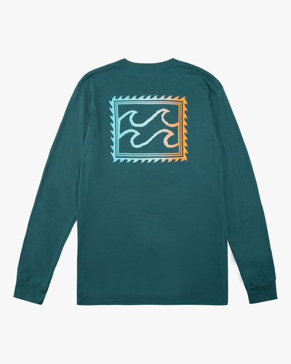 5 Crayon Wave Long Sleeve T-Shirt Orange ABYZT00191 Billabong