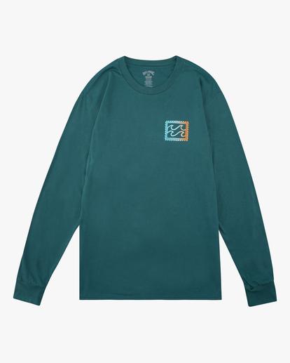 4 Crayon Wave Long Sleeve T-Shirt Orange ABYZT00191 Billabong