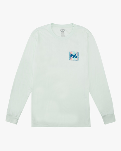 4 Crayon Wave Long Sleeve T-Shirt Multicolor ABYZT00191 Billabong