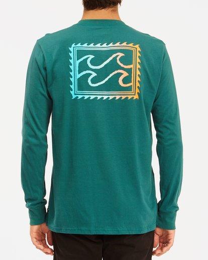 2 Crayon Wave Long Sleeve T-Shirt Orange ABYZT00191 Billabong