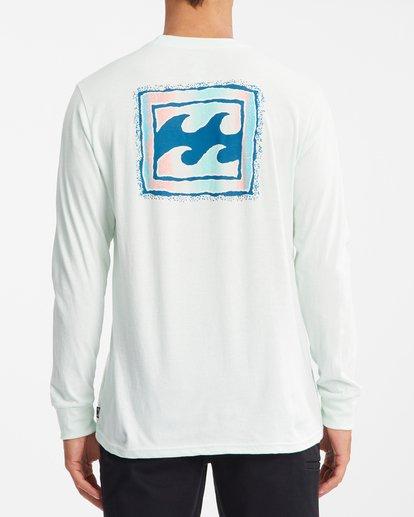 3 Crayon Wave Long Sleeve T-Shirt Multicolor ABYZT00191 Billabong