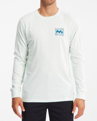 0 Crayon Wave Long Sleeve T-Shirt Multicolor ABYZT00191 Billabong