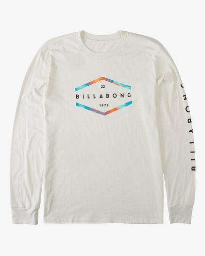 6 Entry Long Sleeve T-Shirt White ABYZT00192 Billabong