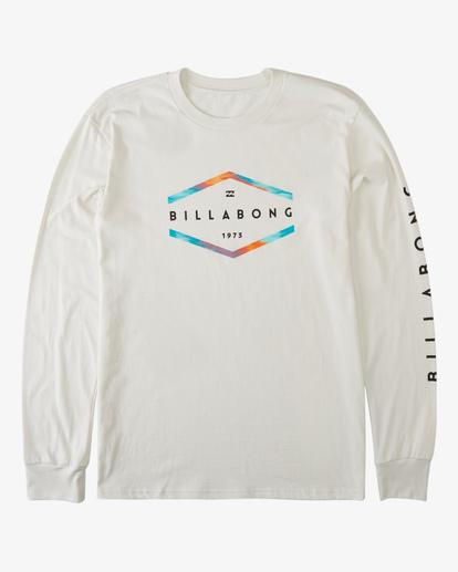 6 Entry Long Sleeve T-Shirt White ABYZT00192 Billabong