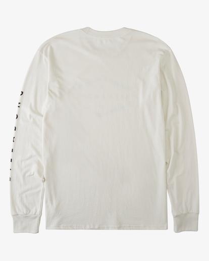 5 Entry Long Sleeve T-Shirt White ABYZT00192 Billabong