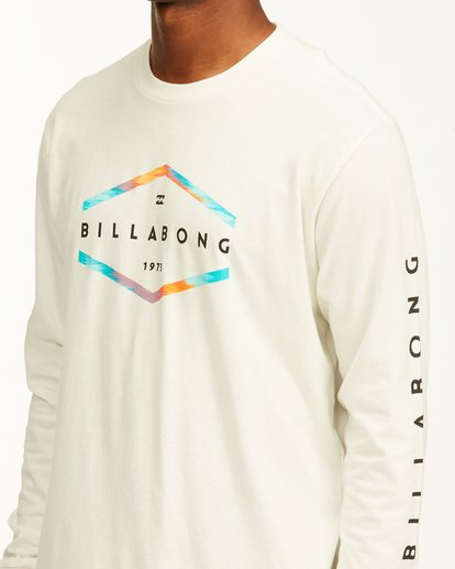 3 Entry Long Sleeve T-Shirt White ABYZT00192 Billabong