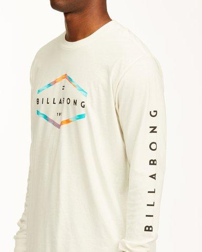 4 Entry Long Sleeve T-Shirt White ABYZT00192 Billabong