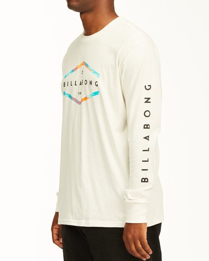 1 Entry Long Sleeve T-Shirt White ABYZT00192 Billabong