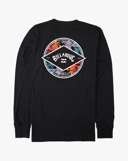 1 Rotor Arch Long Sleeve T-Shirt Black ABYZT00195 Billabong