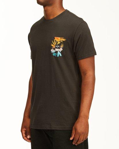 1 Team Pocket T-Shirt Black ABYZT00198 Billabong