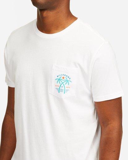 4 Schooner Pocket T-Shirt White ABYZT00201 Billabong