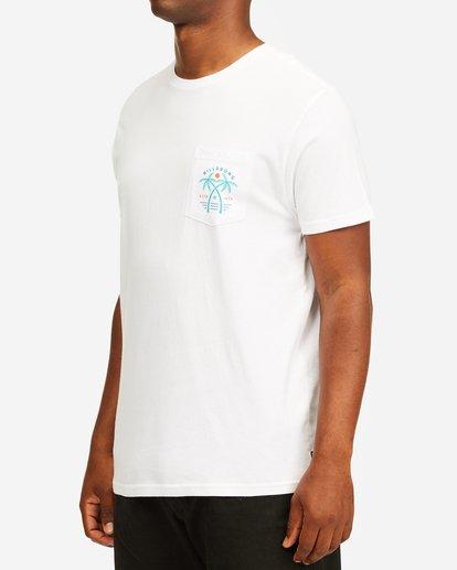 1 Schooner Pocket T-Shirt White ABYZT00201 Billabong