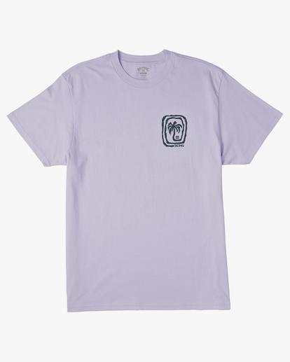 5 Maze Short Sleeve Wave Washed T-Shirt Purple ABYZT00213 Billabong