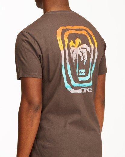 3 Maze Short Sleeve Wave Washed T-Shirt White ABYZT00213 Billabong