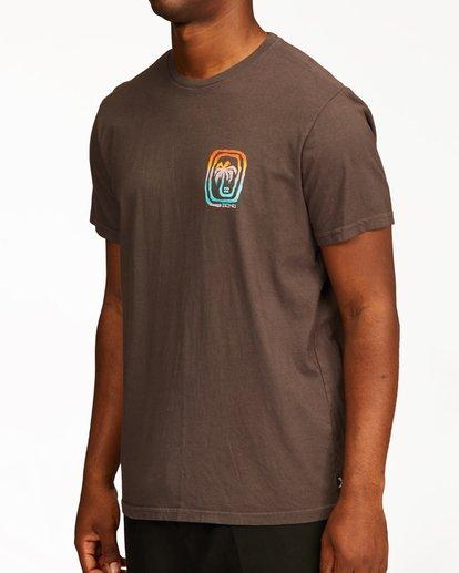 4 Maze Short Sleeve Wave Washed T-Shirt White ABYZT00213 Billabong
