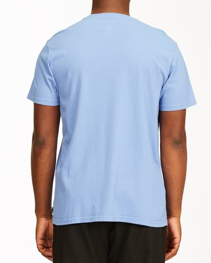 2 Club Tropix Short Sleeve Wave Washed T-Shirt Blue ABYZT00216 Billabong
