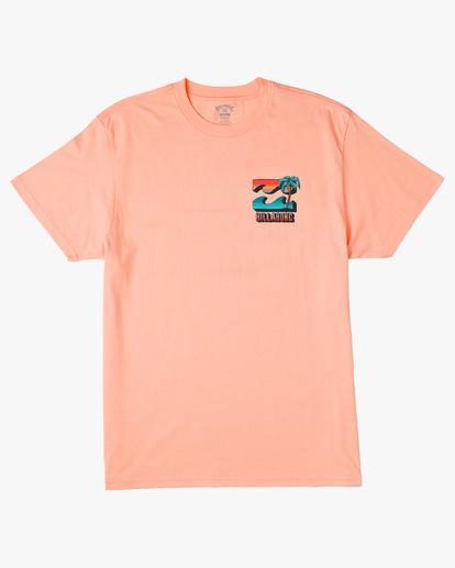 5 BBTV Short Sleeve Wave Washed T-Shirt Black ABYZT00219 Billabong