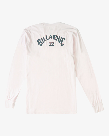 4 Archwave Long Sleeve Wave Washed T-Shirt Purple ABYZT00220 Billabong