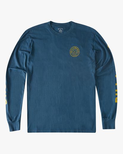 5 Harbor Long Sleeve Wave Washed T-Shirt Blue ABYZT00221 Billabong