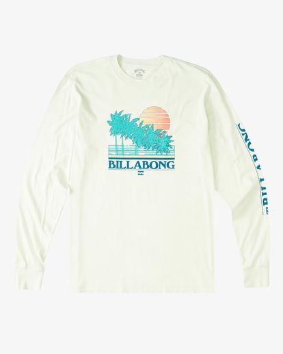 5 Club Tropix Long Sleeve Wave Washed T-Shirt Multicolor ABYZT00222 Billabong