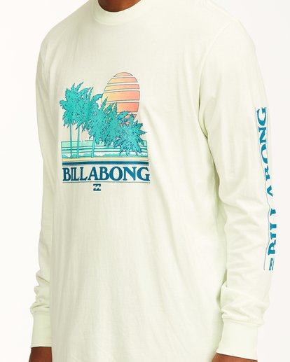 4 Club Tropix Long Sleeve Wave Washed T-Shirt Multicolor ABYZT00222 Billabong