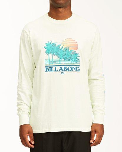 0 Club Tropix Long Sleeve Wave Washed T-Shirt Multicolor ABYZT00222 Billabong